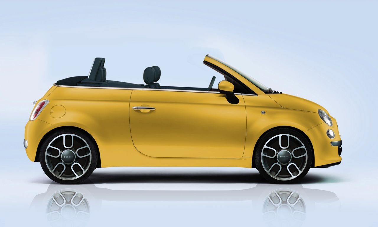 le top 50 des fiat 500 insolites fiat 500 cabrio illustration l 39 argus. Black Bedroom Furniture Sets. Home Design Ideas