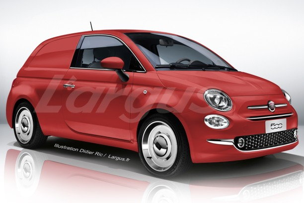 l 39 utilitaire virtuel du vendredi 2 la fiat 500 jardini re l 39 argus. Black Bedroom Furniture Sets. Home Design Ideas