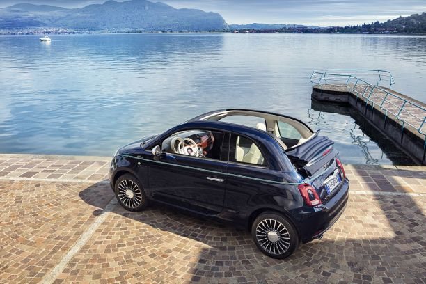 fiat 500 riva une 500 pour aller sur l 39 eau l 39 argus. Black Bedroom Furniture Sets. Home Design Ideas