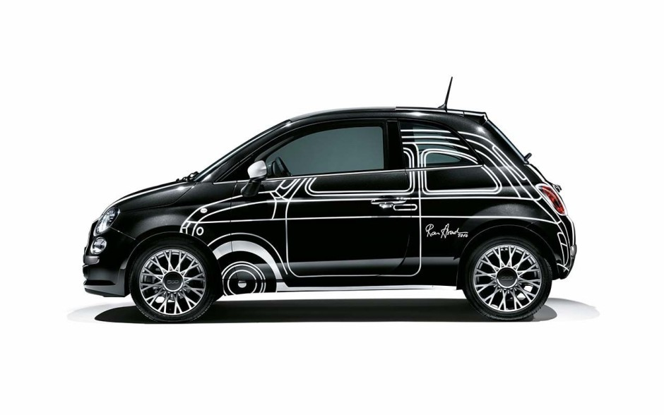 le top 50 des fiat 500 insolites fiat 500 ron arad edition l 39 argus. Black Bedroom Furniture Sets. Home Design Ideas
