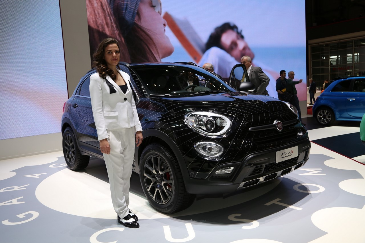 le suv fiat 500 x en vedette au salon de gen ve 2015 l 39 argus. Black Bedroom Furniture Sets. Home Design Ideas