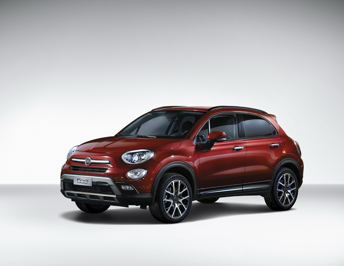 fiat 500x du changement pour 2017 photo 2 l 39 argus. Black Bedroom Furniture Sets. Home Design Ideas