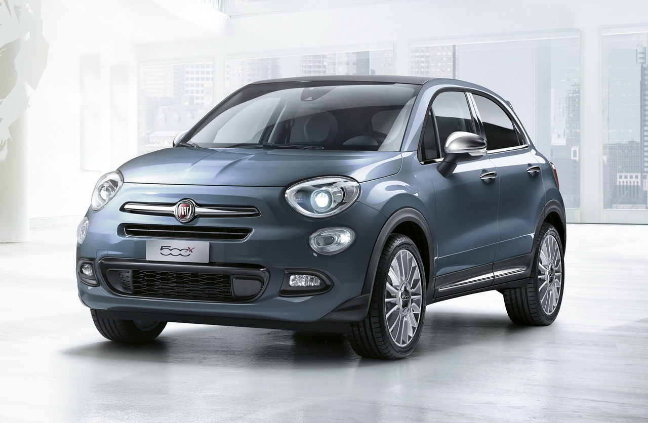 fiat 500x du changement pour 2017 photo 6 l 39 argus. Black Bedroom Furniture Sets. Home Design Ideas