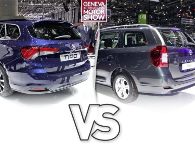 Fiat Tipo Station Wagon vs Dacia Logan MCV : le match des breaks