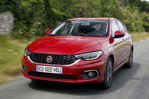 fiat tipo 5 portes rouge