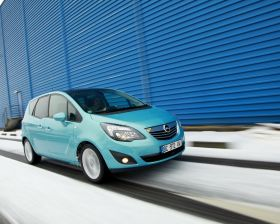 Opel Meriva II Portes grandes ouvertes