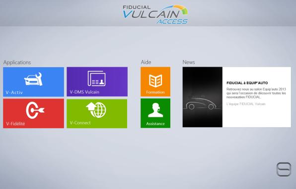 Le DMS Vulcain s'int�gre au Surface Pro 3 que l'�diteur vend avec sa solution.