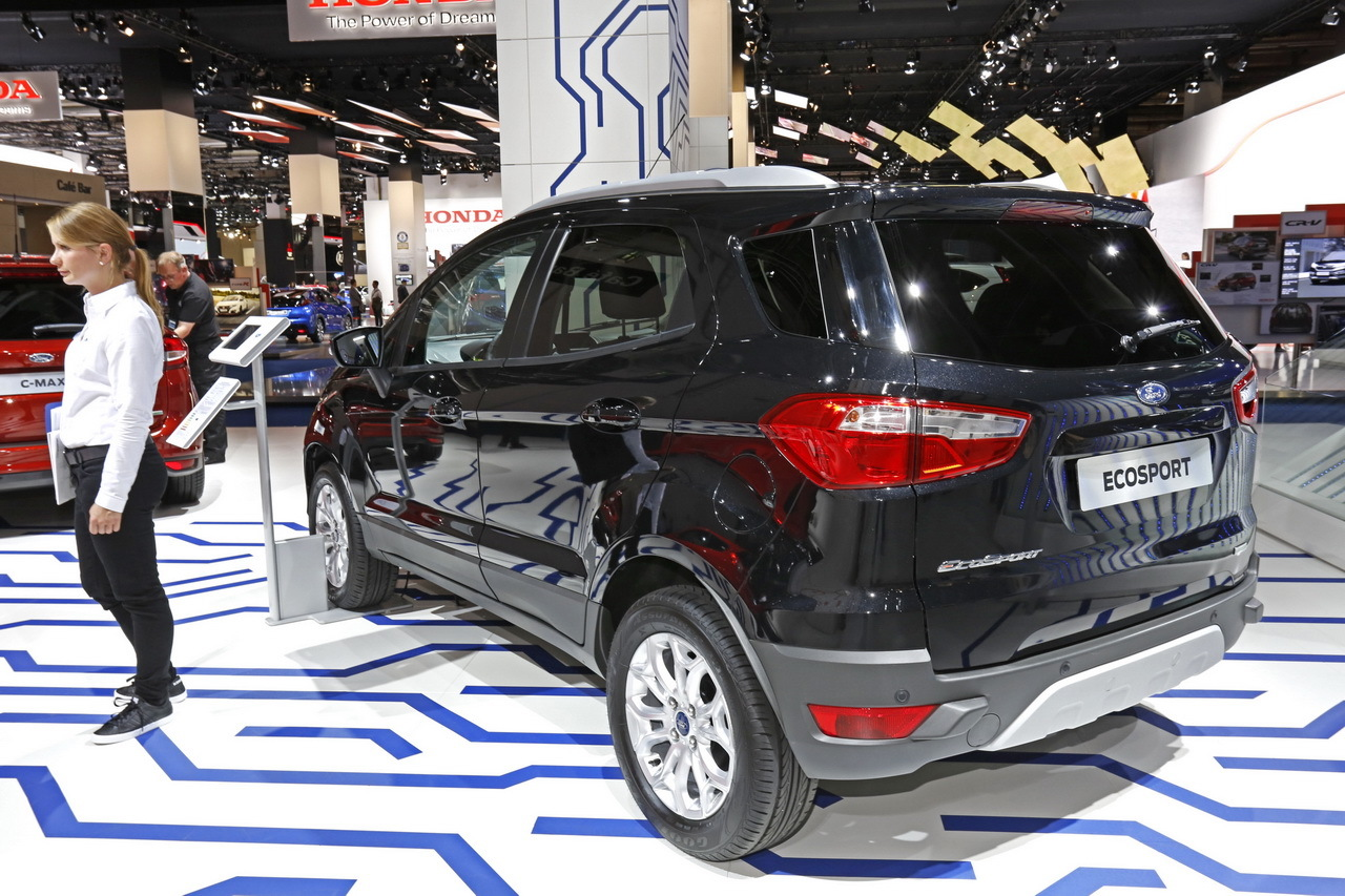 ford ecosport 1 0 ecoboost 140 nouveau moteur essence en avril 2016 photo 2 l 39 argus. Black Bedroom Furniture Sets. Home Design Ideas