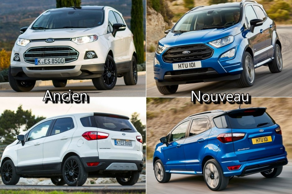 ford ecosport 2017 nouveau diesel 4x4 et version st line au menu photo 18 l 39 argus. Black Bedroom Furniture Sets. Home Design Ideas