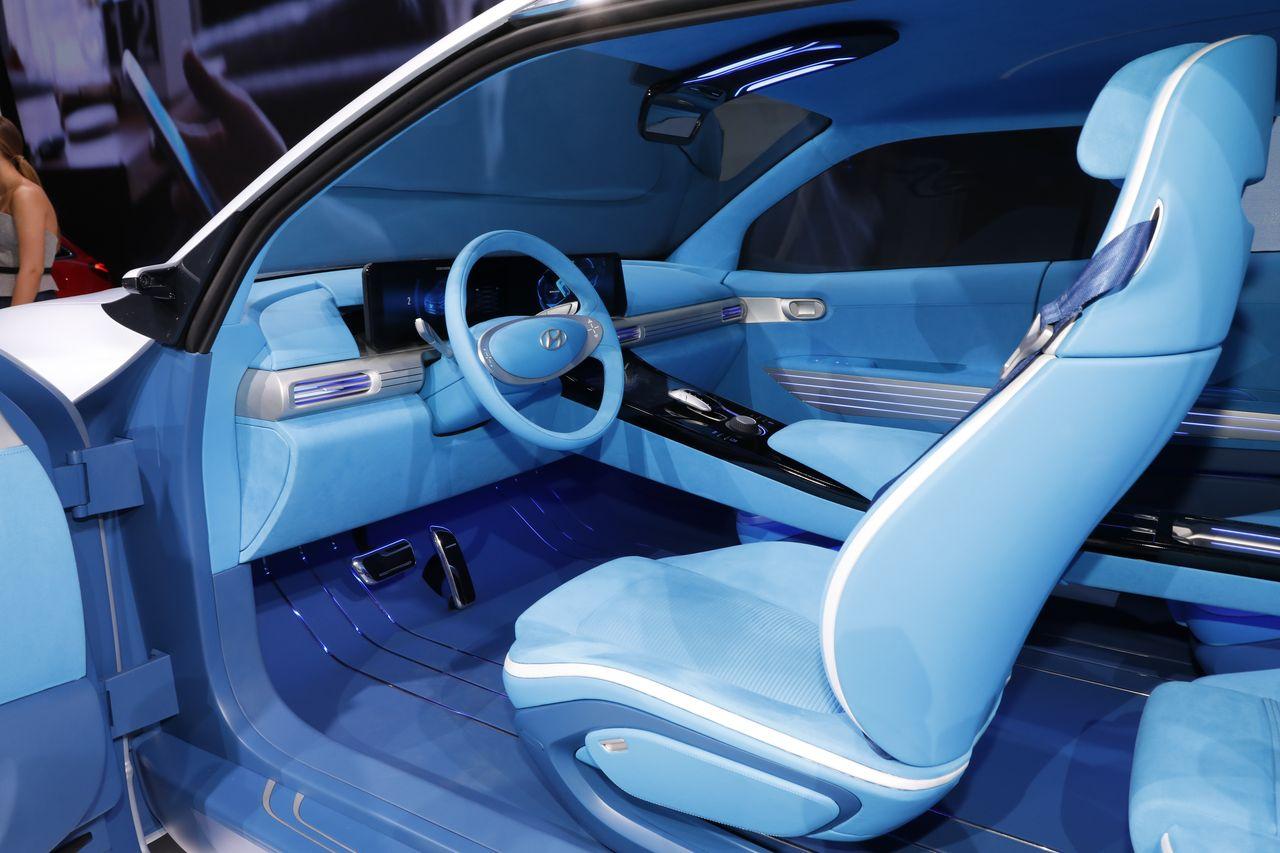 hyundai fe fuel cell concept petit suv et pile combustible photo 12 l 39 argus. Black Bedroom Furniture Sets. Home Design Ideas