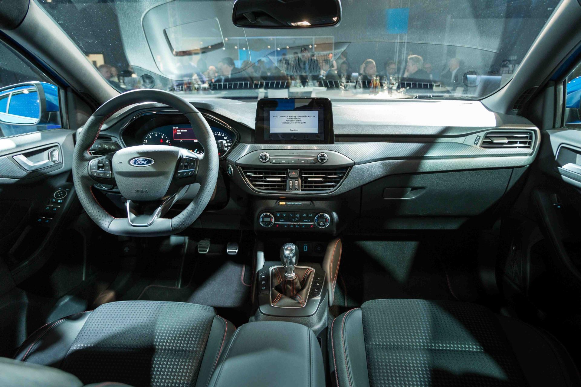 Focus St 2018 >> Ford Focus 4 (2018). A bord de la nouvelle Focus en vidéo - Photo #24 - L'argus