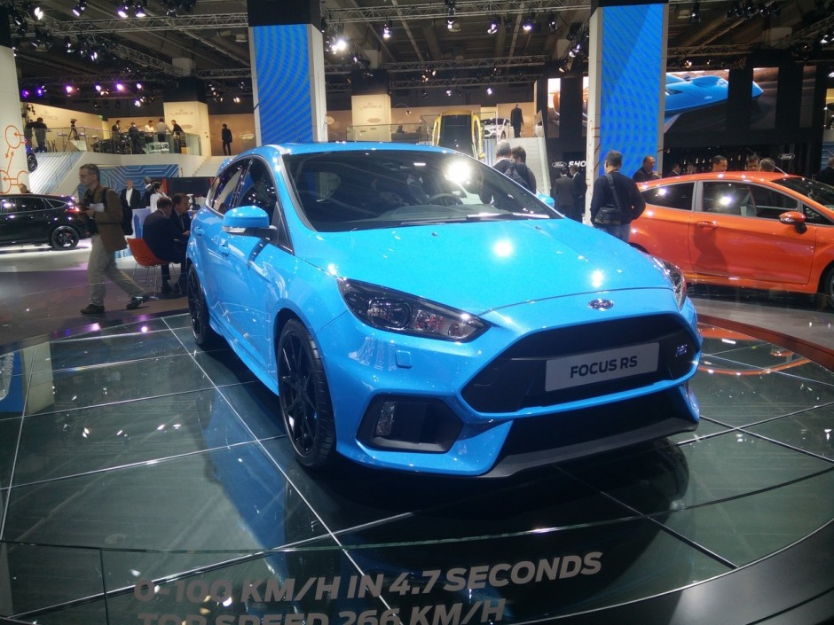 prix ford focus rs 2016 38 600 euros la nouvelle focus rs photo 1 l 39 argus. Black Bedroom Furniture Sets. Home Design Ideas