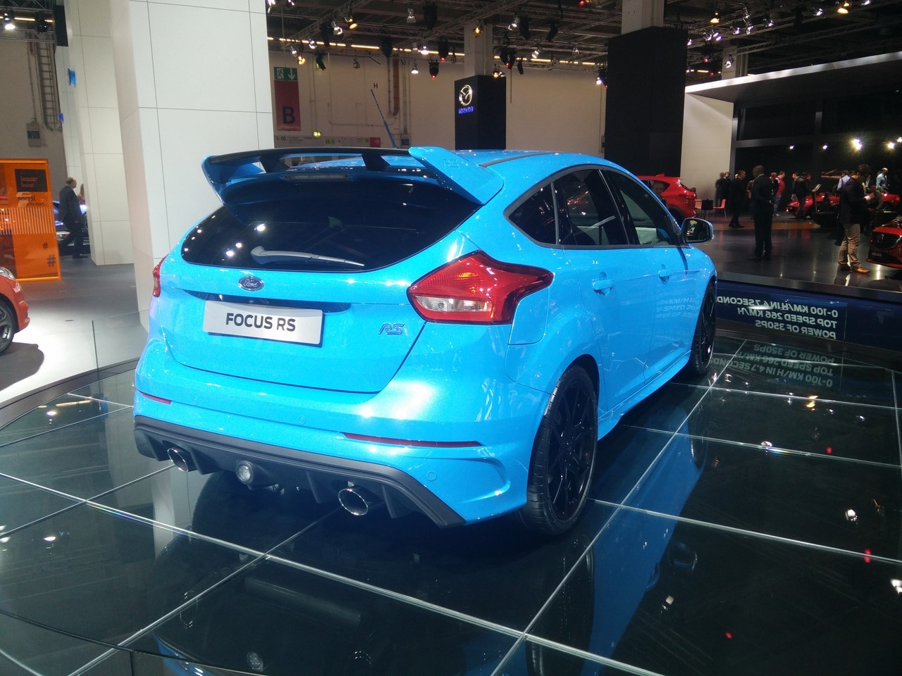prix ford focus rs 2016 38 600 euros la nouvelle focus rs photo 4 l 39 argus. Black Bedroom Furniture Sets. Home Design Ideas