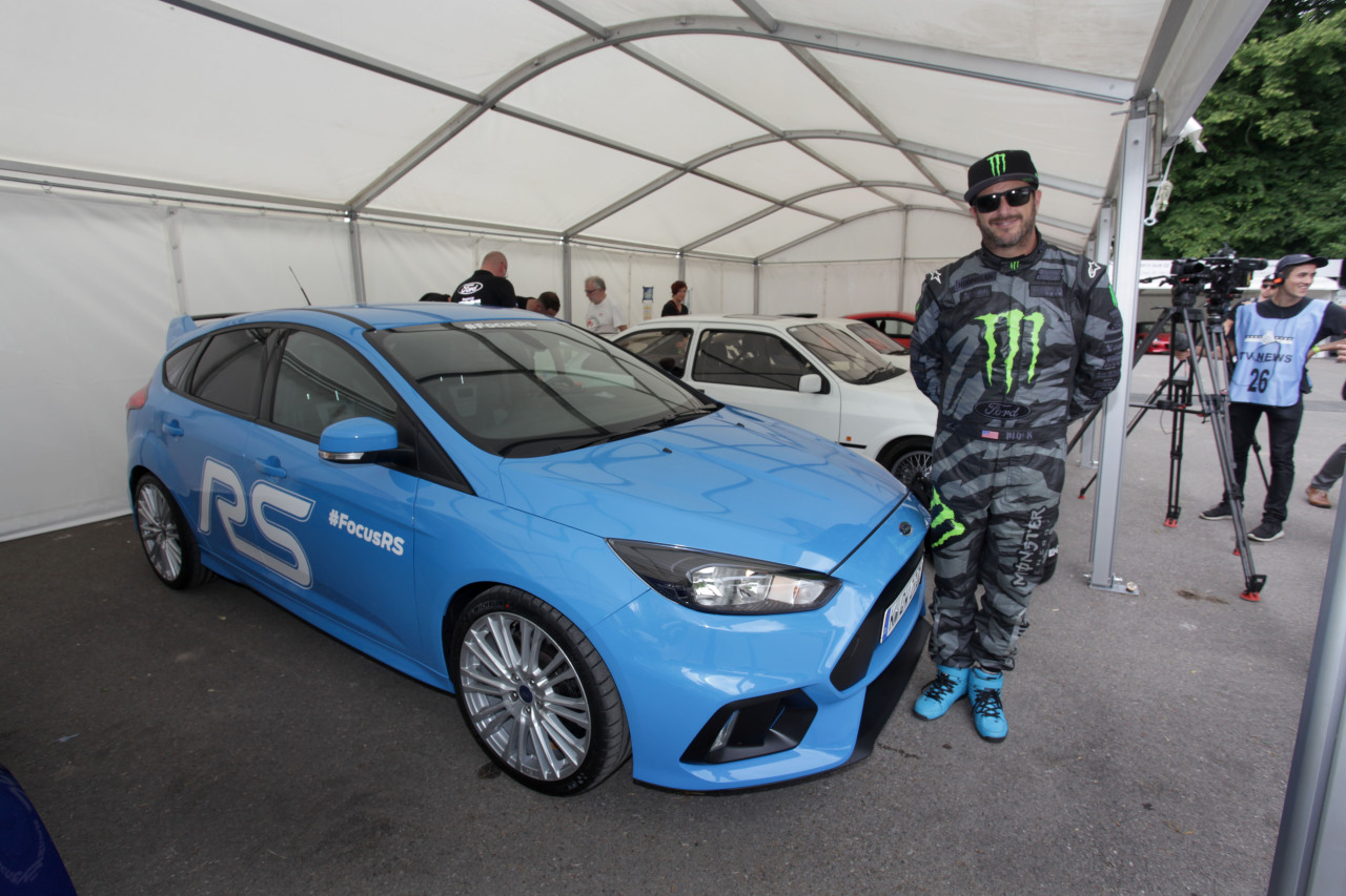 la nouvelle focus rs et la ford gt au festival de goodwood. Black Bedroom Furniture Sets. Home Design Ideas