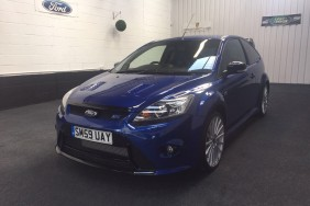 ford focus RS 2009 bleue