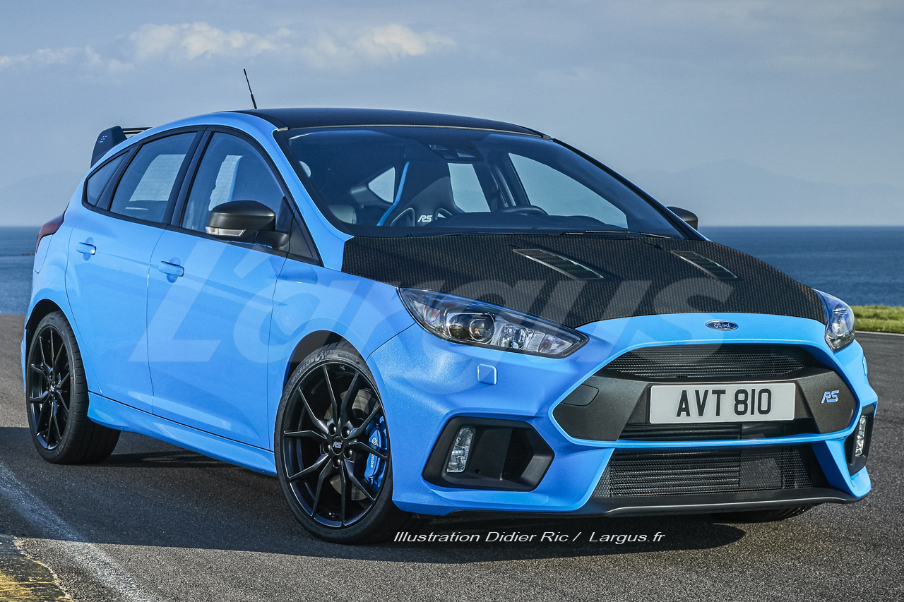 ford focus rs500 2018 pas 500 ch mais bien 380 ch sous le capot ford auto evasion. Black Bedroom Furniture Sets. Home Design Ideas
