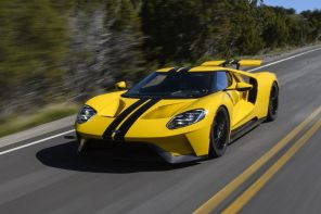 ford gt jaune