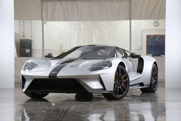 ford GT competition series grise