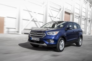 vue avant Ford Kuga face-lift (2016)