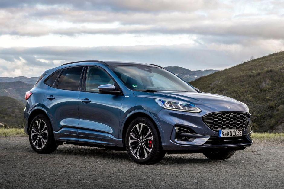 Essai Ford Kuga 2.5 PowerSplit : hybride rechargeable et ...