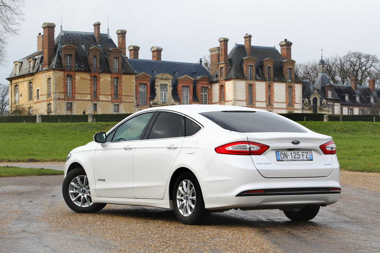 Essai Ford Mondeo Hybrid L Anti Diesel Photo 31 L Argus