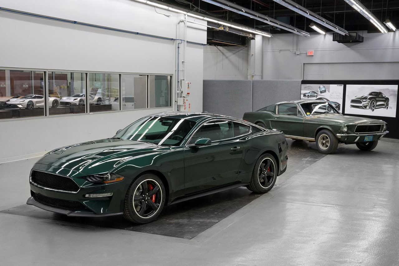 une nouvelle ford mustang bullitt pr sent e detroit photo 10 l 39 argus. Black Bedroom Furniture Sets. Home Design Ideas