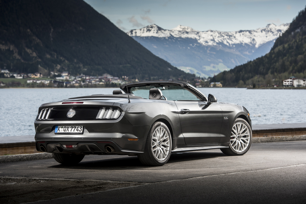 essai ford mustang cabriolet 2015 le test avec le moteur ecoboost photo 33 l 39 argus. Black Bedroom Furniture Sets. Home Design Ideas