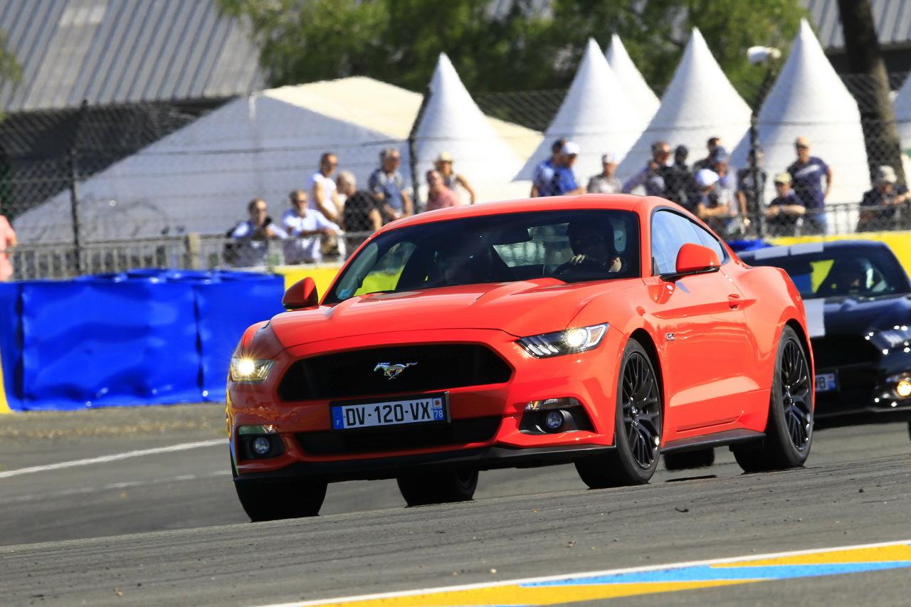 Essai vidéo Ford Mustang GT sur le circuit des 24 Heures ...