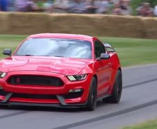 Ford Mustang Shelby GT350R Festival Goodwood 2015