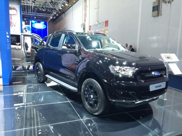 Ford Ranger Black Edition Francfort 2017