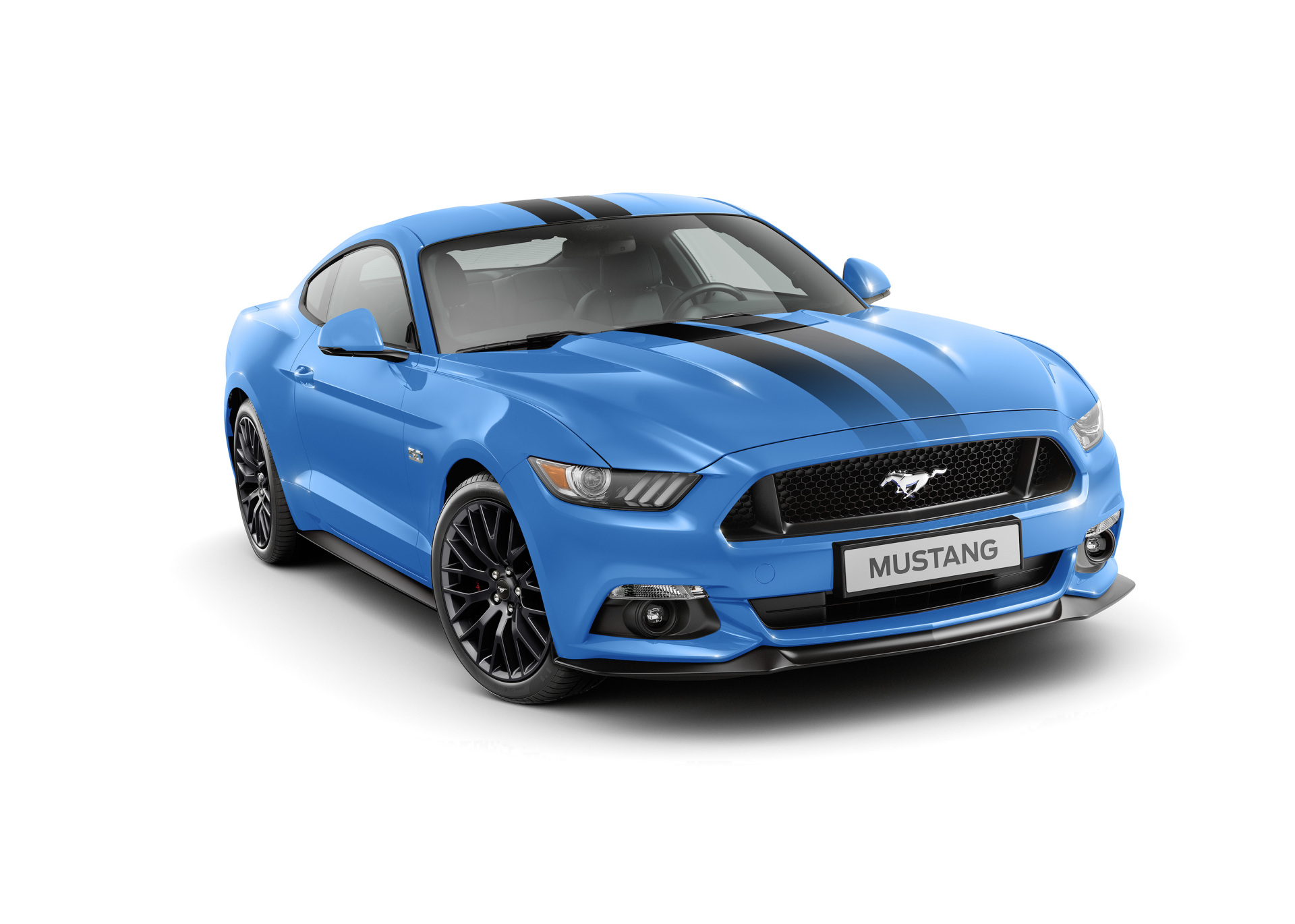 ford mustang black shadow blue edition deux futurs collectors photo 5 l 39 argus. Black Bedroom Furniture Sets. Home Design Ideas