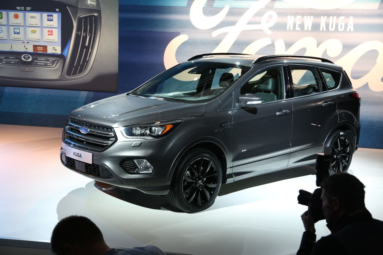 ford kuga restyle  sur  air de edge largus