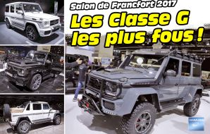 Mercedes classe g salon francfort 2017