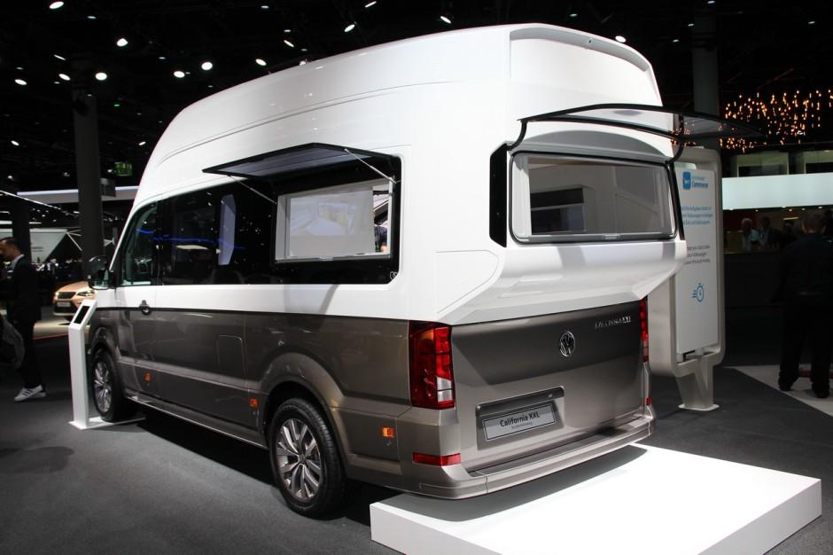 Volkswagen California XXL : le camping-car paradis est à ...