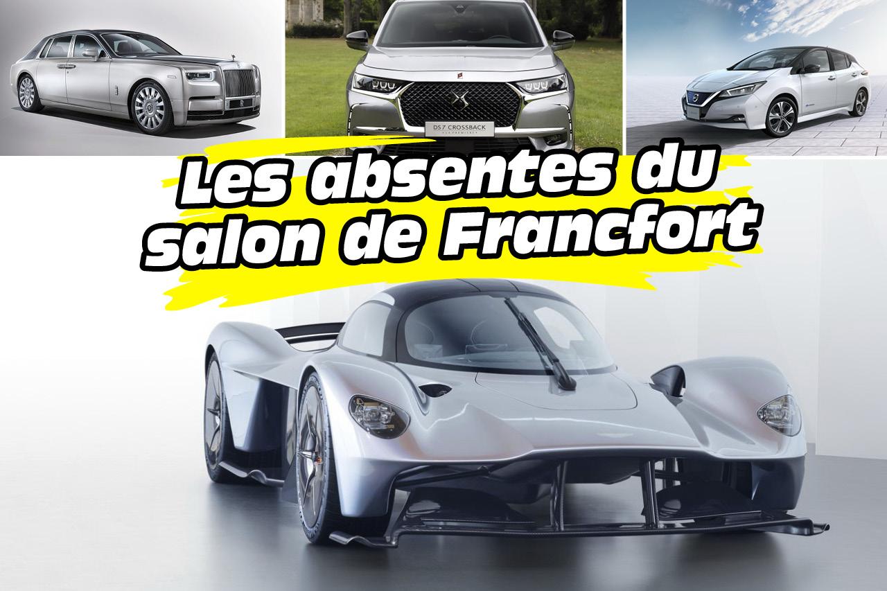 Salon de francfort 2017 les voitures que vous ne verrez for Salon de francfort