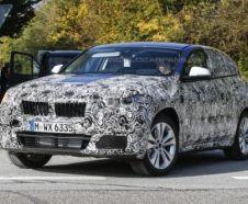 futur BMW X2 (2016) vue avant