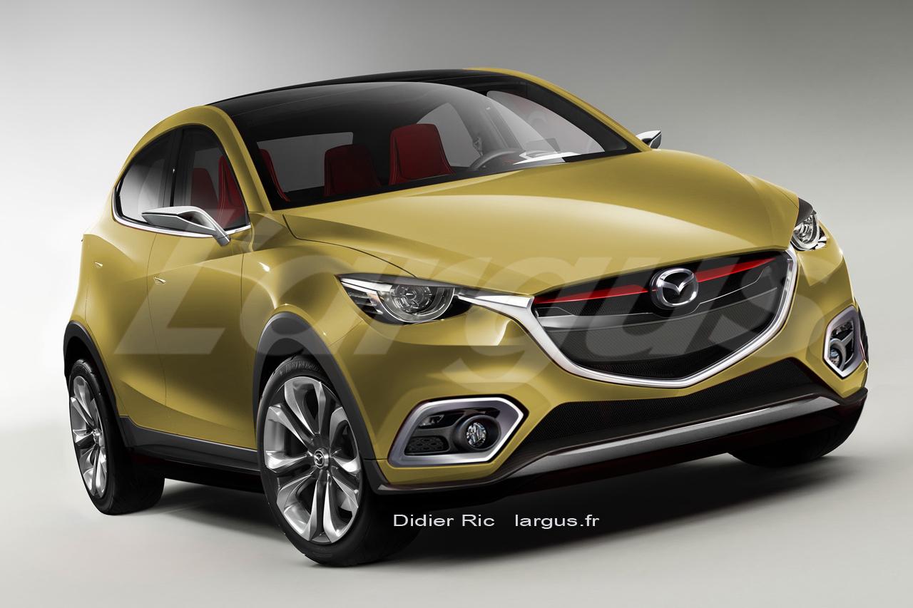 2014 - [Mazda] CX-3 - Page 3 Futur%2Dmazda%2Dcx%2D3%2D2015%2Ejpg