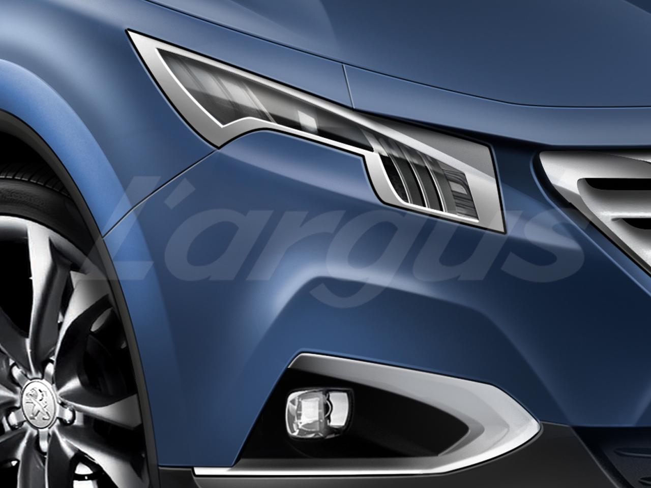 Le futur peugeot 6008 sera produit rennes en 2016 for Peugeot 6008 interieur