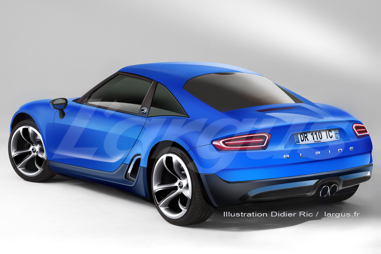 renault alpine a110 50 concept autoforum. Black Bedroom Furniture Sets. Home Design Ideas