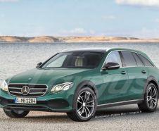 future Mercedes Classe E allroad 2017 vue avant