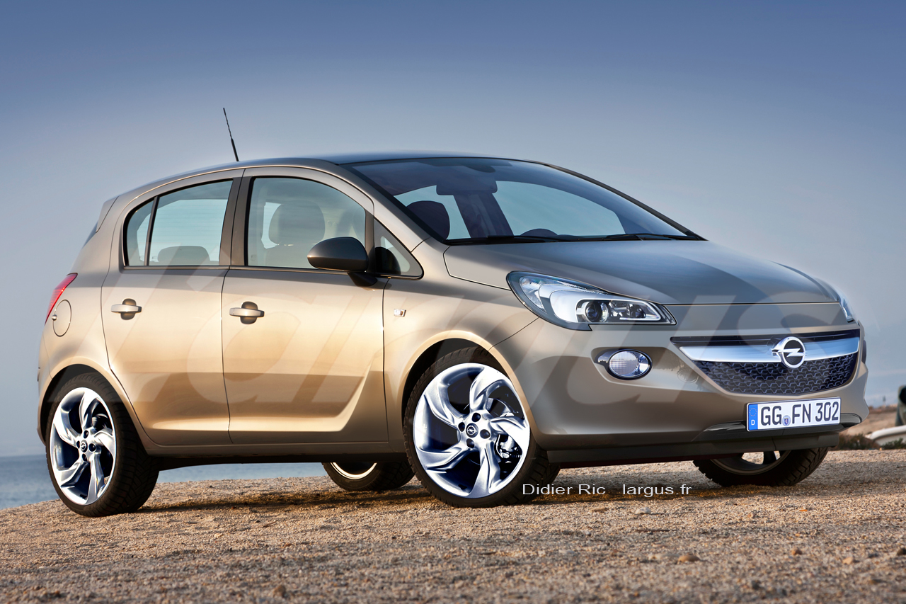Nous avons conduit la future Opel Corsa (2014)