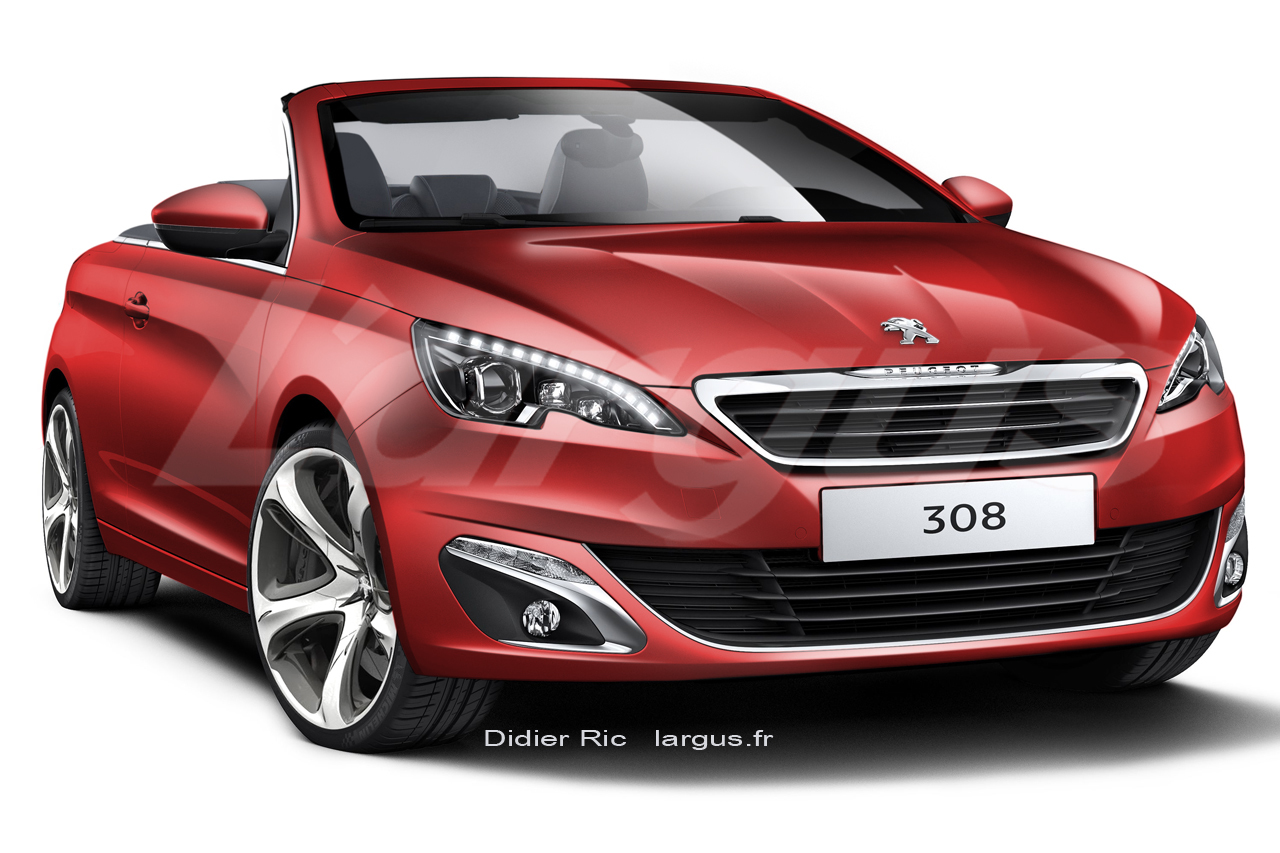 peugeot 308 cabriolet 2015 retour la toile l 39 argus. Black Bedroom Furniture Sets. Home Design Ideas