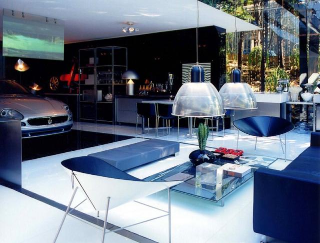 Vous passez votre vie dans votre garage ? Découvrez 3 idées de décorations  originales proposées par Fleur Déco du blog quartier,maison.fr !