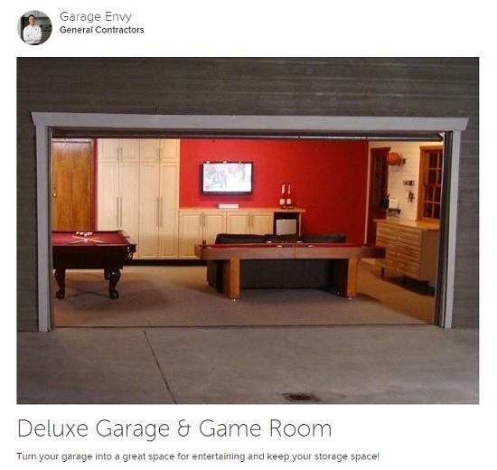 Et si vous am nagiez la d co de votre garage photo 3 for Transformer garage en cuisine