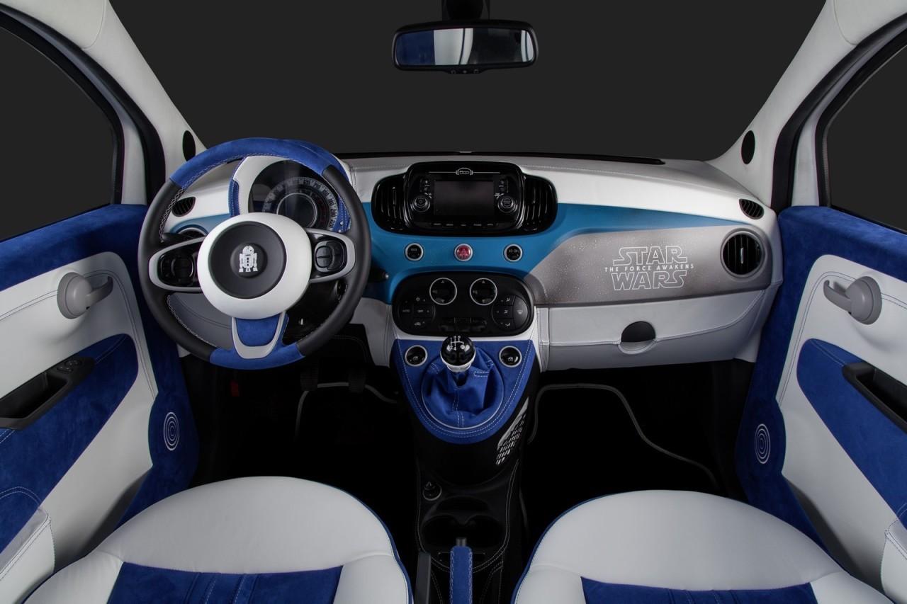 Fiat 500 r2 d2 et bb 8 star wars inspire aussi les for Cote argus reprise garage