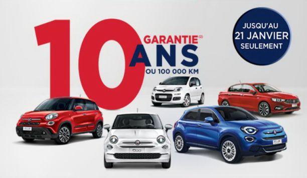 Fiat Garantie 10 Ans : fiat offre 10 ans de garantie sur sa gamme l 39 argus ~ Medecine-chirurgie-esthetiques.com Avis de Voitures