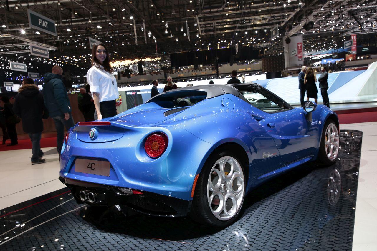 Alfa Romeo 4c S 233 Ries Limit 233 Es Competizione Et Italia 224