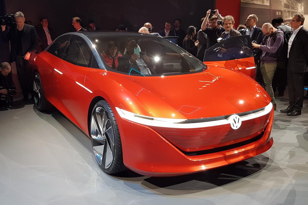 volkswagen id vizzion la premi re voiture autonome de. Black Bedroom Furniture Sets. Home Design Ideas