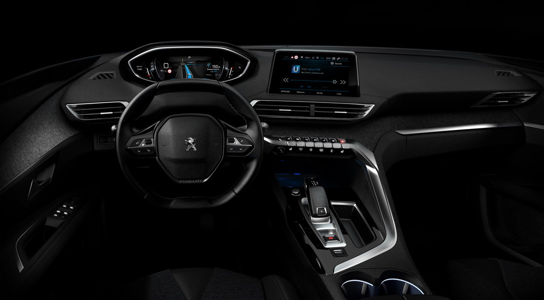 Peugeot 3008 2016 photos officielles de l 39 int rieur du for Interieur 3008 allure