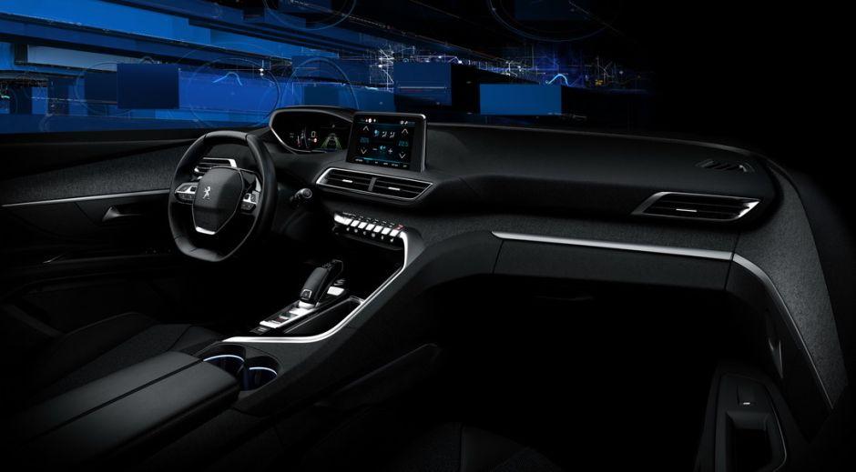 Peugeot 3008 (2016). Photos officielles de l\'intérieur du 3008 2 ...